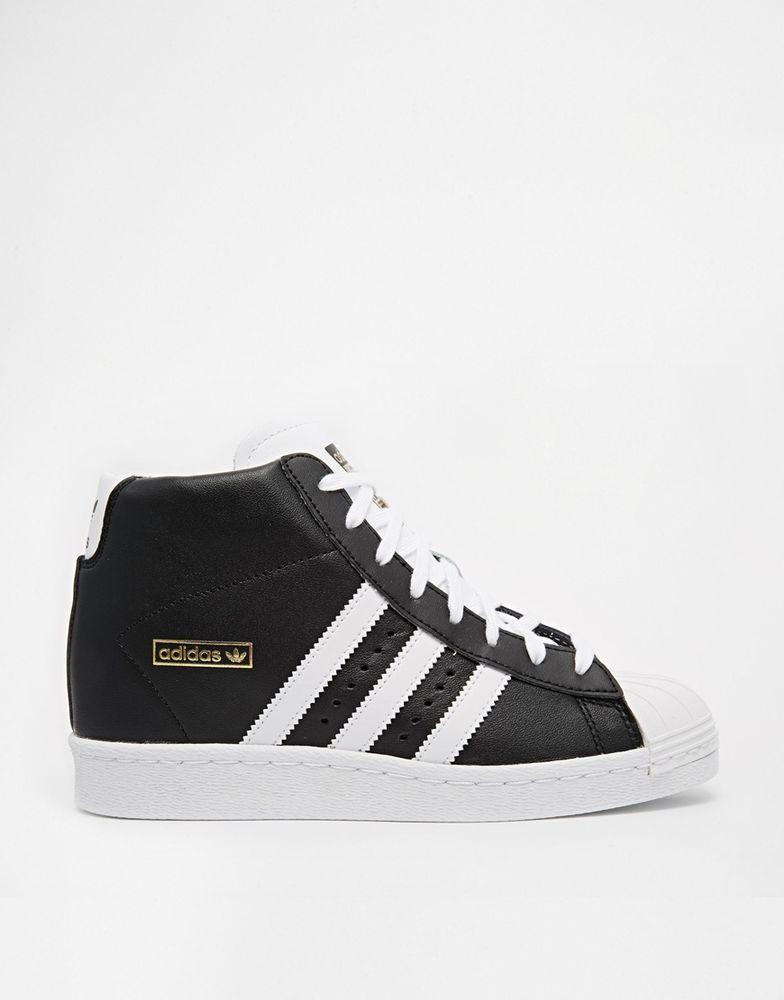 adidas Originals Superstar 38 NEU schwarz ❤ Echt Leder