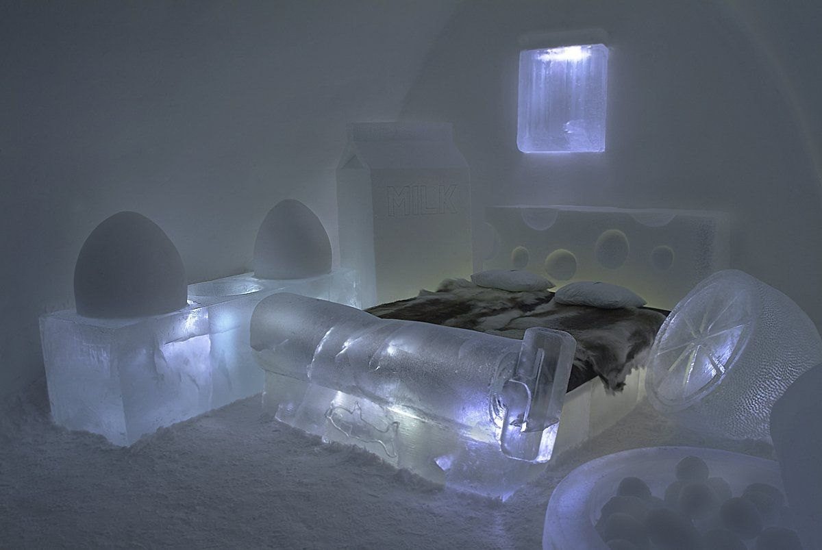Ice Hotels World Inspired Ambitions Unusual