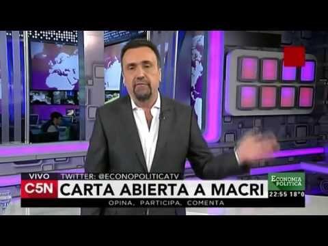 Navarro llora pauta publicitaria -   C5N - Economia Politica: 06/12/2015 (Parte 7) - YouTube