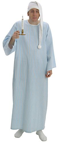 Adults Book Week Wee Willy Winky Night Gown    Hat Fancy Dress Cost e06a8f577492