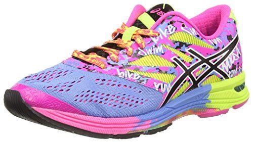 Asics Gel-Noosa Tri 11, Damen Laufschuhe, Pink (Hot Pink/Flash Yellow/Black 3407), 37 EU