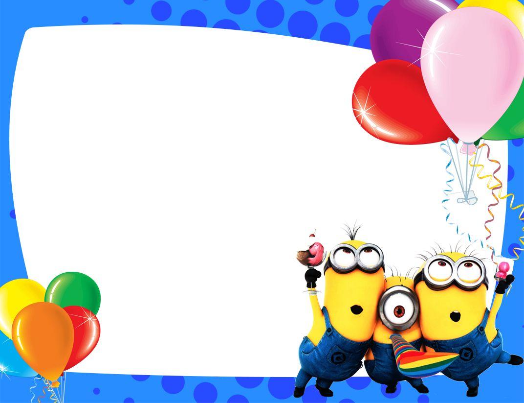 Minions Invitaciones Buscar Con Google Invitacion