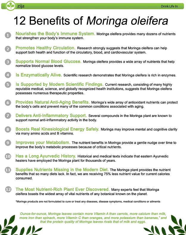 12 Benefits of Moringa Oleifera  Get more info at www