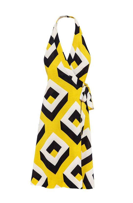 La robe portefeuille de Diane Von Furstenberg à l\'honneur aux ...