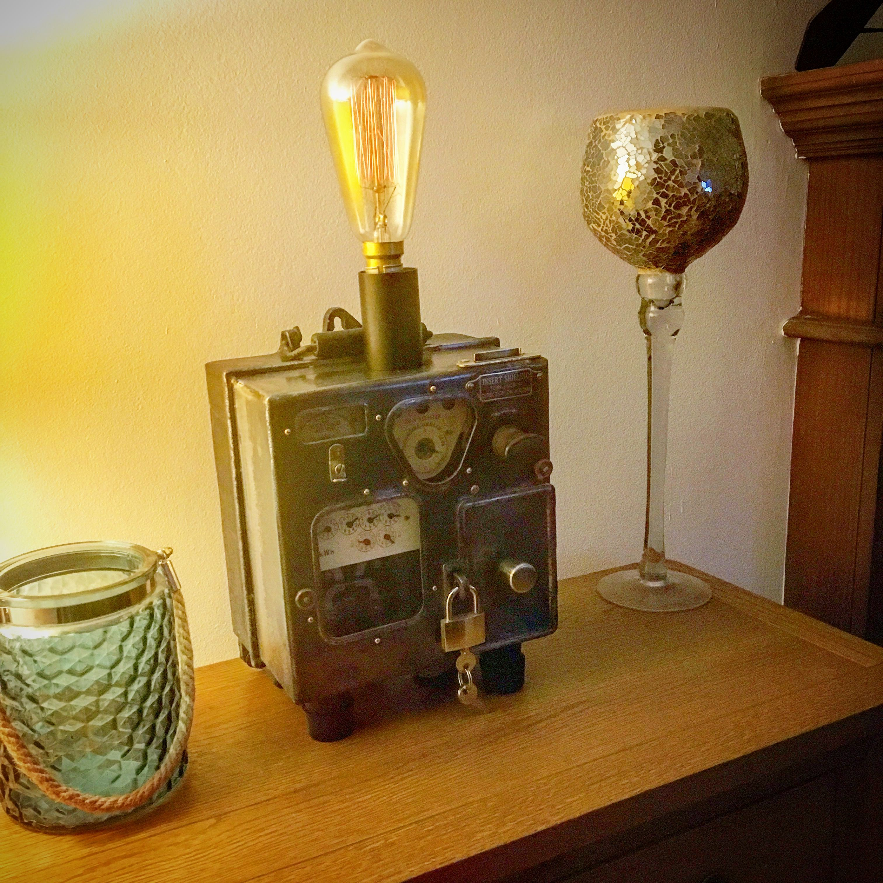 Steampunk, Lamps, Lightbulbs, Light Fixtures, Lights