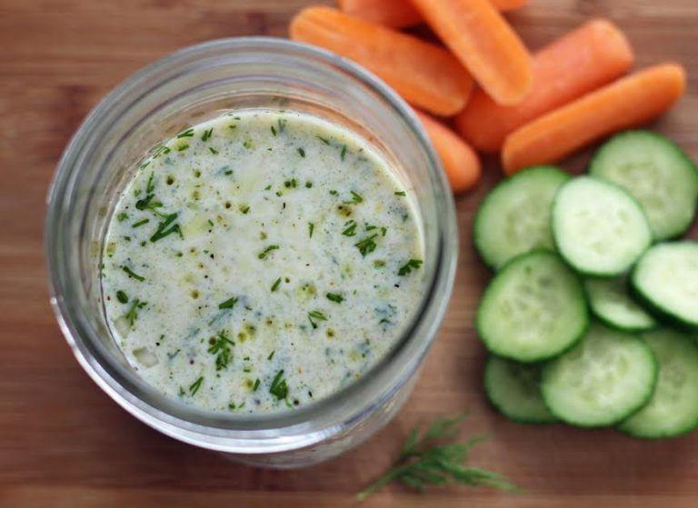 Quick Buttermilk Dill Dressing Recipe Spicy Recipes Delicious Salad Dressings Dill Dressing