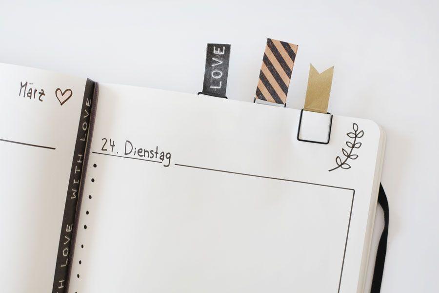 ich zeige euch heute meine art meine notizb cher als kalender zu gestalten mit washi tape und. Black Bedroom Furniture Sets. Home Design Ideas