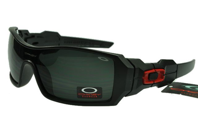 7f4b6c1ee0 Best Oakley Oil Rig Sunglasses Black Lens Matte Black Red Frame  177.28 The  activities of price  26.00
