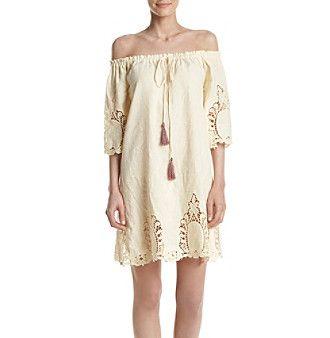 Penelope Rose™ Lace Off Shoulder Dress