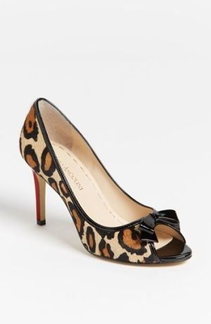 Anniversary Sale! A curvy bow tops the peep toe of a ladylike pump lacquered in posh patent.A curvy bow tops the peep toe of a ladylike pump lacquered in posh patent. Color(s): leopard. Brand: Enzo Angiolini. Style Name: Enzo Angiolini 'Linzzi' Pump (Nordstrom Exclusive). Style Number: 681421_1. $$69.90 by nordstrom