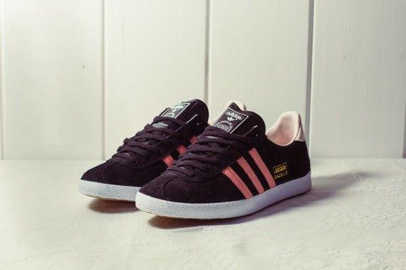 hot product 100% top quality 100% genuine Adidas Gazelle Og Black Pink Trainer   adidas-gazelle-og ...