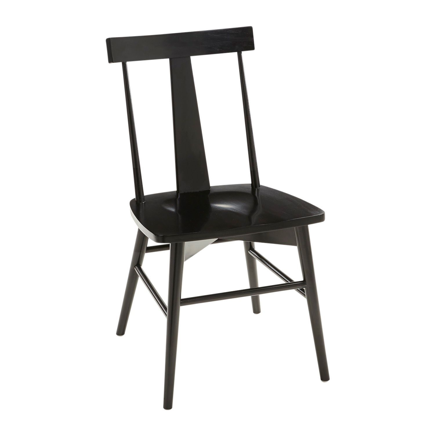 Grad Black Dining Chair Black Dining Chairs Yellow Dining Chairs