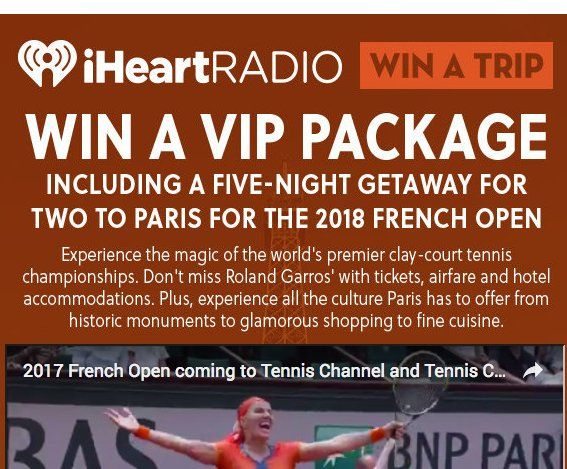 Roland garros sweepstakes and giveaways