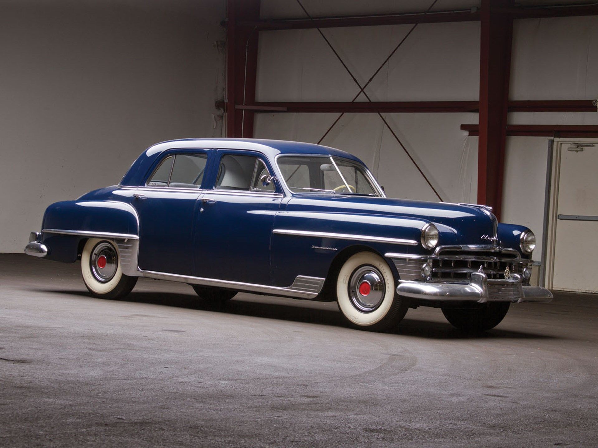 By 1950 Chrysler Had Once Again Emerged As One Of The Automotive Manufacturing Powerhouses Their Line Was Diverse Chrysler New Yorker Chrysler Chrysler Cars