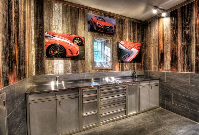 Amazing Garage Cabinets Sears For Nice Tools Storage Idea: Wonderful Rustic  Garage And Shed Design
