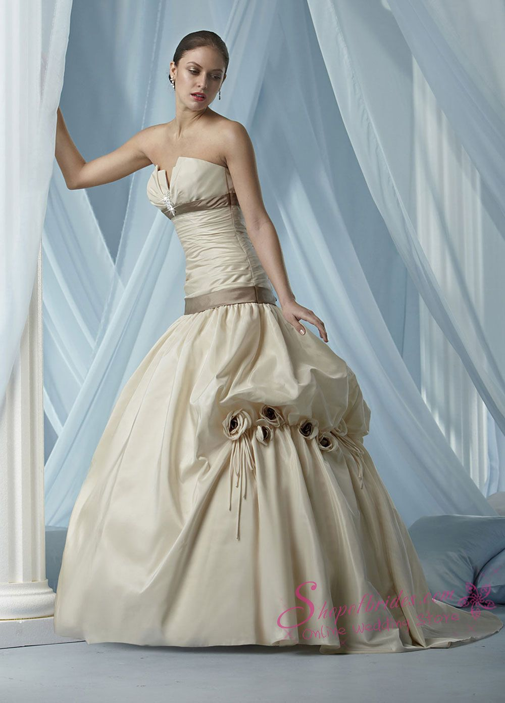 Strapless ball gown wedding dresses  Ball Gown Wedding Dresses  Wedding Gowns  Pinterest  Ball gowns
