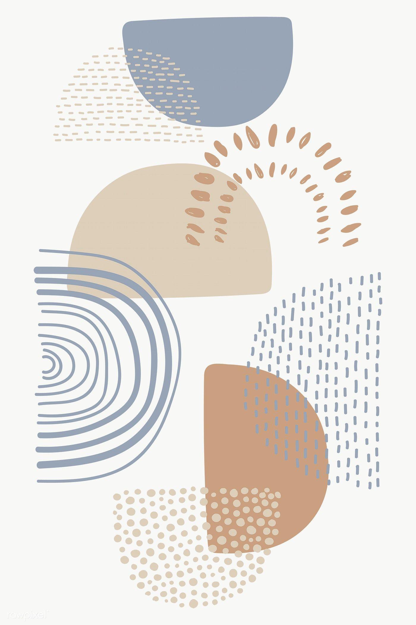 Semicircle Patterned Doodle Background Transparent Png Premium Image By Rawpixel Com Doodle Background Cute Patterns Wallpaper Iphone Background Wallpaper