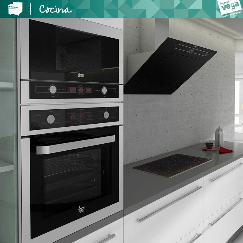 Cocina #Vitroceramica #CampanaExtractora #Horno #Teka #Estilos2014 ...