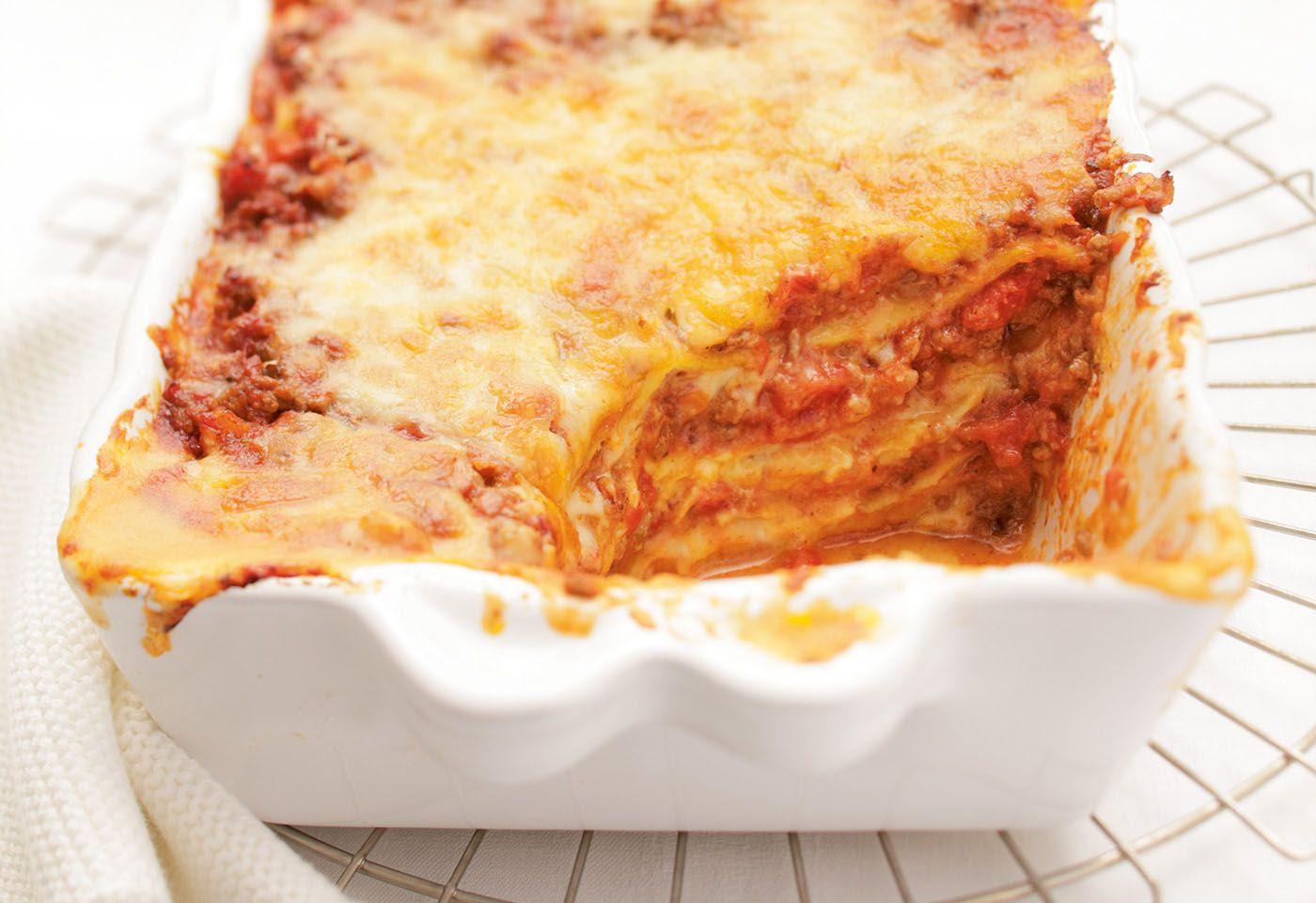 lasagne mit selbst gemachtem nudelteig frisch gekocht