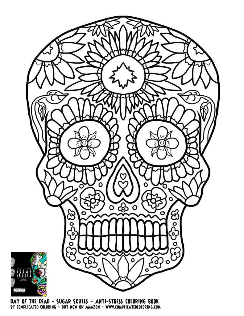 - Free Coloring Pages (With Images) Skull Coloring Pages