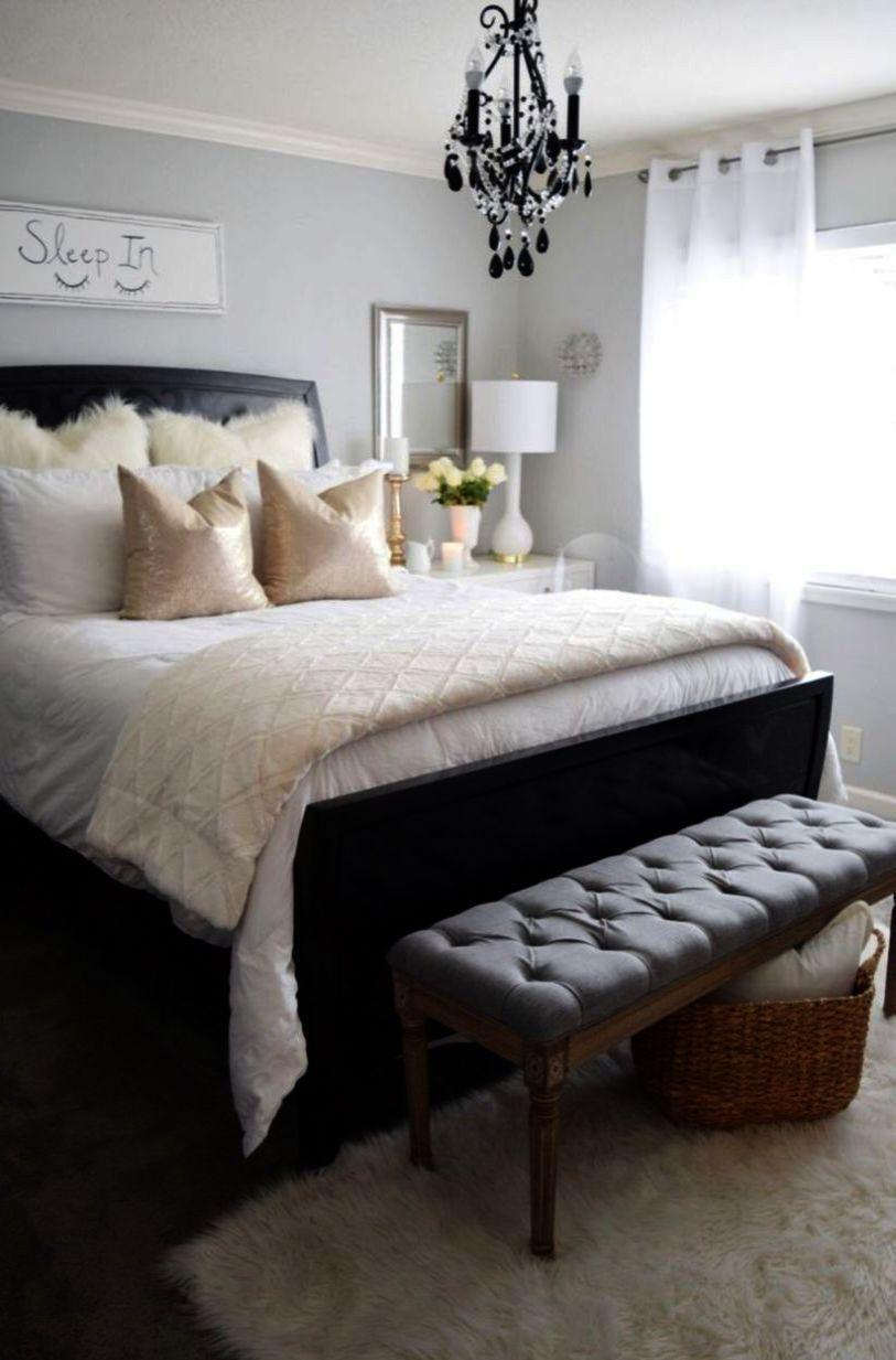 Zinus Faux Leather Upholstered Platform Bed With Wooden Slats The Furniture Blogger Bed Furniture Dark Bedroom Furniture Black Bedroom Furniture Room ideas black furniture