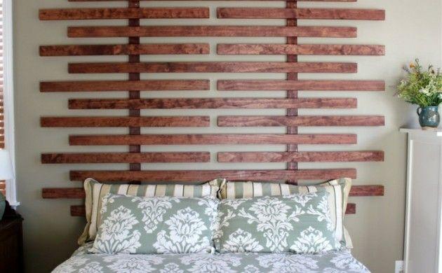 Möbel Aus Paletten Schlafzimmer Möbel Kopfteil Selber Bauen