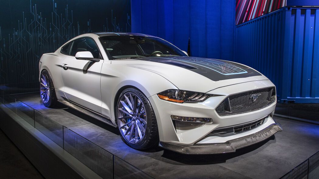 Lithium Mustang Ev From Ford Webasto With Electric Powertrain