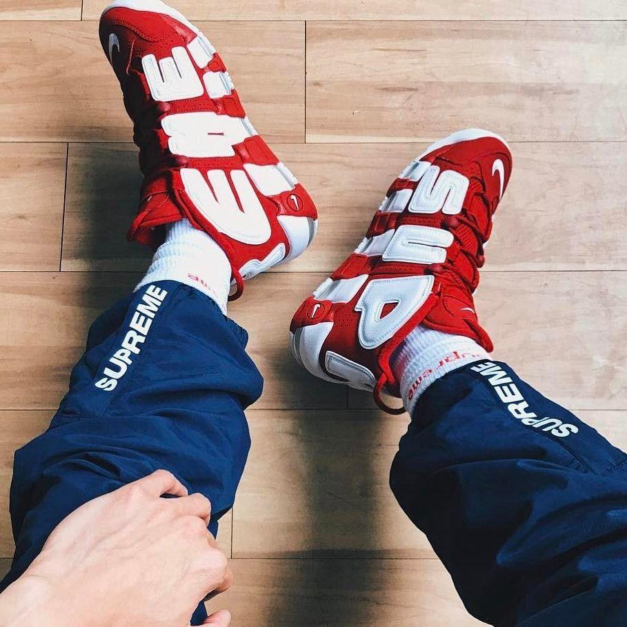 SS17 Supreme/Nike Air More Uptempo