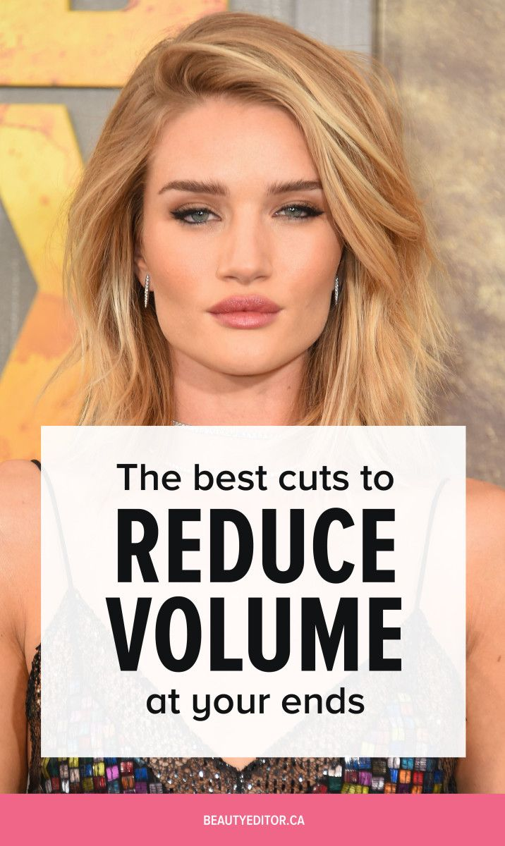 The Best Cuts To Reduce Volume At Your Ends Hair Pinterest