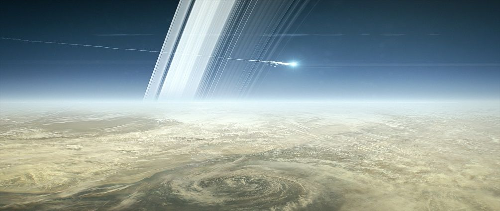 Cassini beams back the closest EVER images of Saturn – EWAO