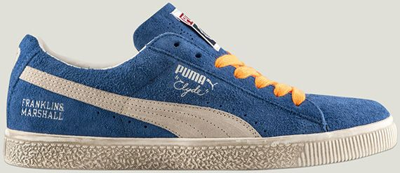 Franklin & Marshall x Puma Clyde | Sneakers fashion, Classic