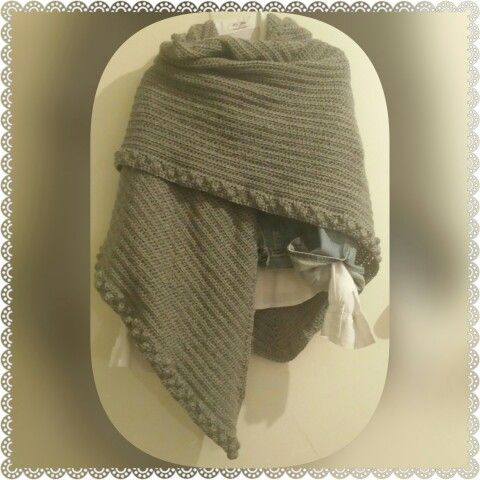 What a perfect idea! For this crazy winter get yourself a worm and wide shawl!!!