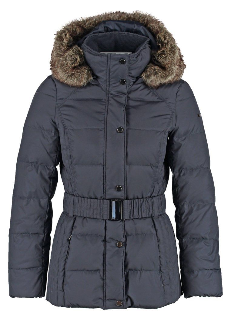 Esprit Down Jacket Navy Zalando Co Uk Jackets Down Jacket Puffer Coat [ 1100 x 762 Pixel ]