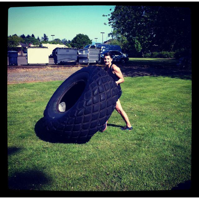 Tire Flips Crossfit Crossfit Kicks Wod