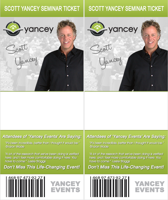 Scott Yancey Free Live Real Estate Income Event