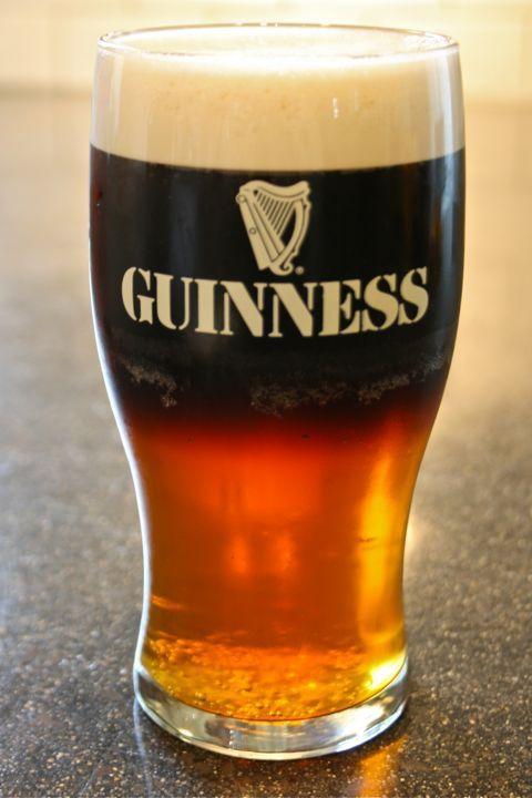Guinness Black & Orange
