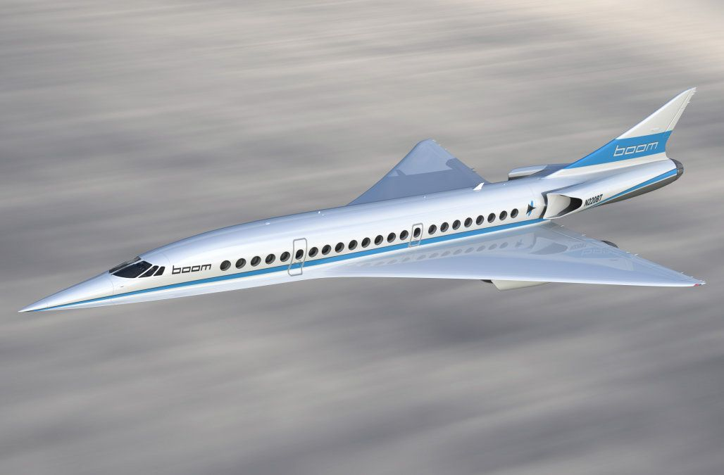 New supersonic jet aims to take you from New York to London in under 4 hours