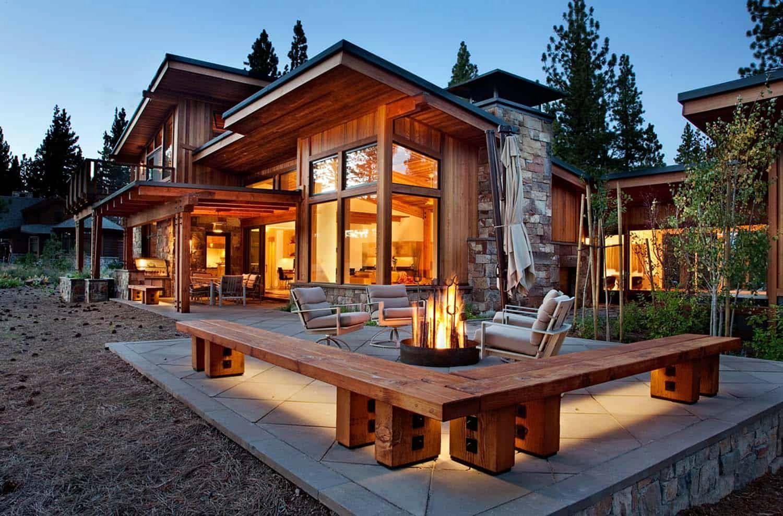 Exterior 9 Stunning Wooden House Design Ideas For Cozy Living Inspiration In 2020 Wooden House Design Wood House Design Log Cabin Homes