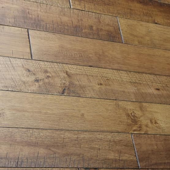 Home Legend Gunstock Oak 3 8 In Thick X 5 In Wide X Varying Length Click Lock Hardwood Flooring 19 686 Sq Ft Case Hl324h The Home Depot