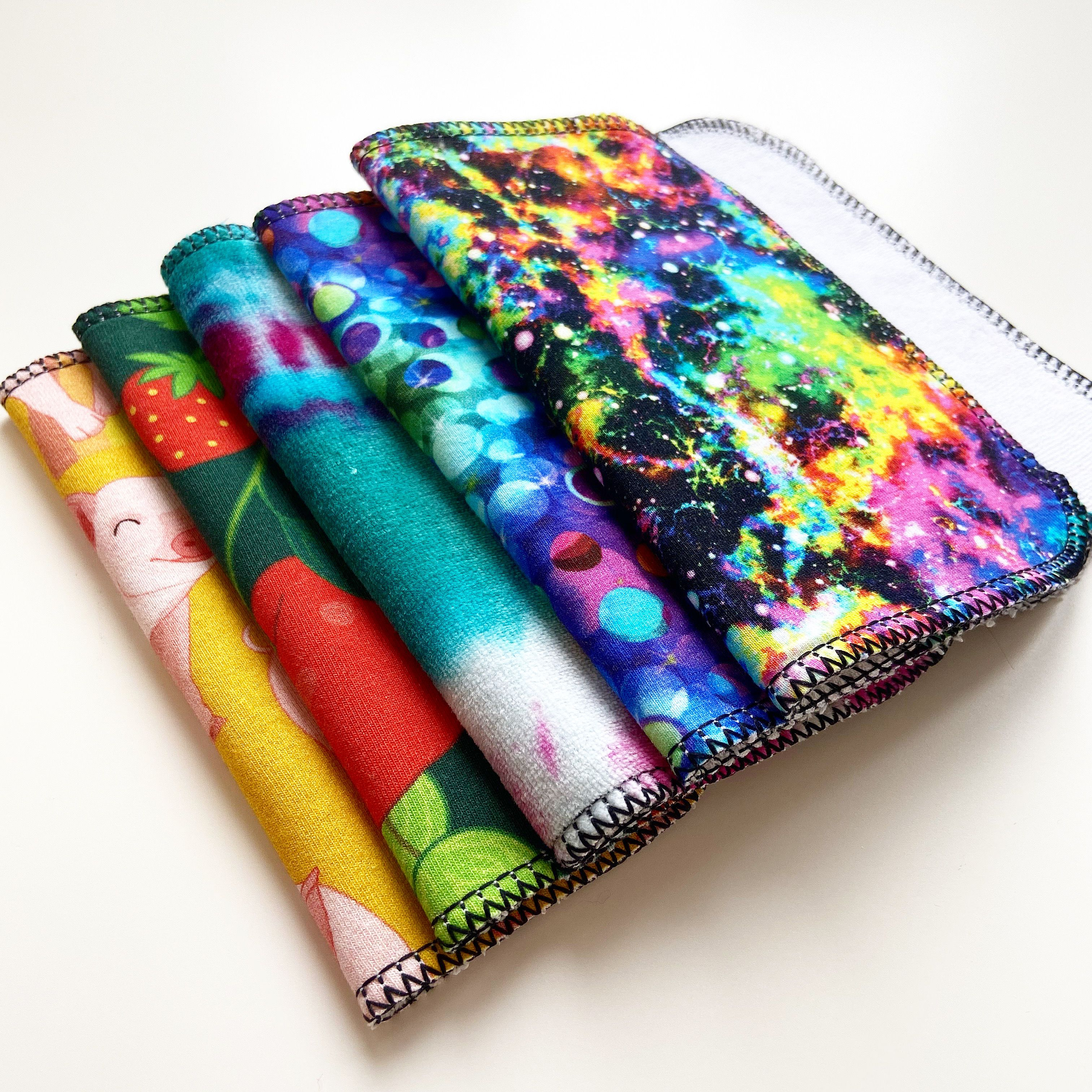 Basic Starter Bundle Fabric markers, Makeup wipes, Cloth