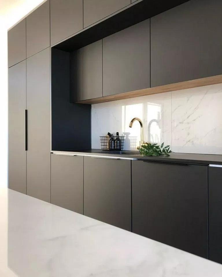 72 Stunning Black Kitchen Decor Ideas 2 In 2020 Black Kitchen
