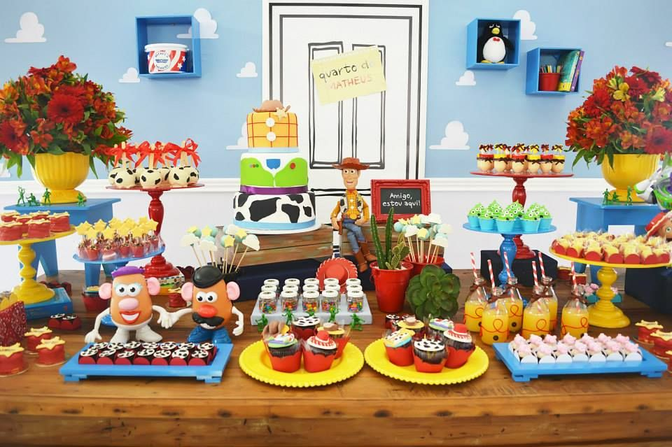 Little Wish Parties Toy Story Birthday Party https
