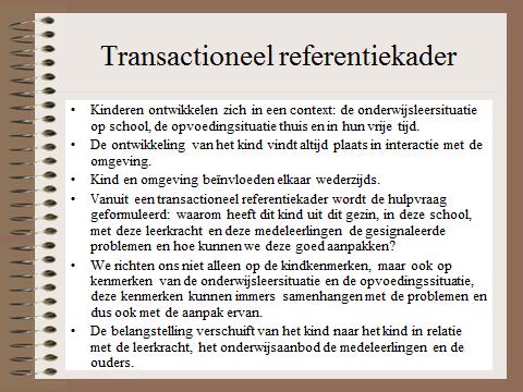 Hgw transactioneel referentiekader hgw school for Basisschool tabitha
