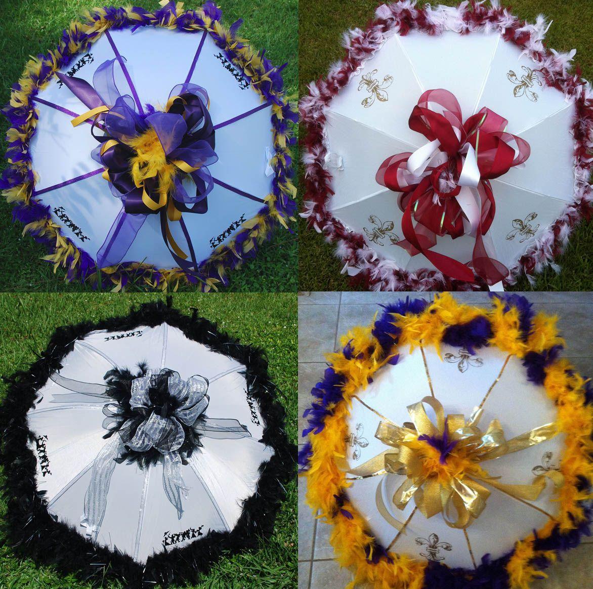 Mardi Gras Wedding Ideas: Pin By Debbie Maxey On Mardi Gras - Umbrella