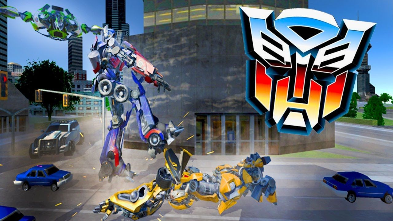 Grand Robot Car Battle Ios Android Gameplay Transformers Track