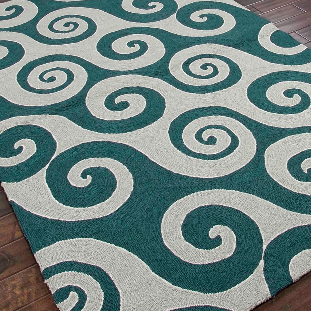 Idea For Living Room: Whimsical Waves And Scrolls Outdoor