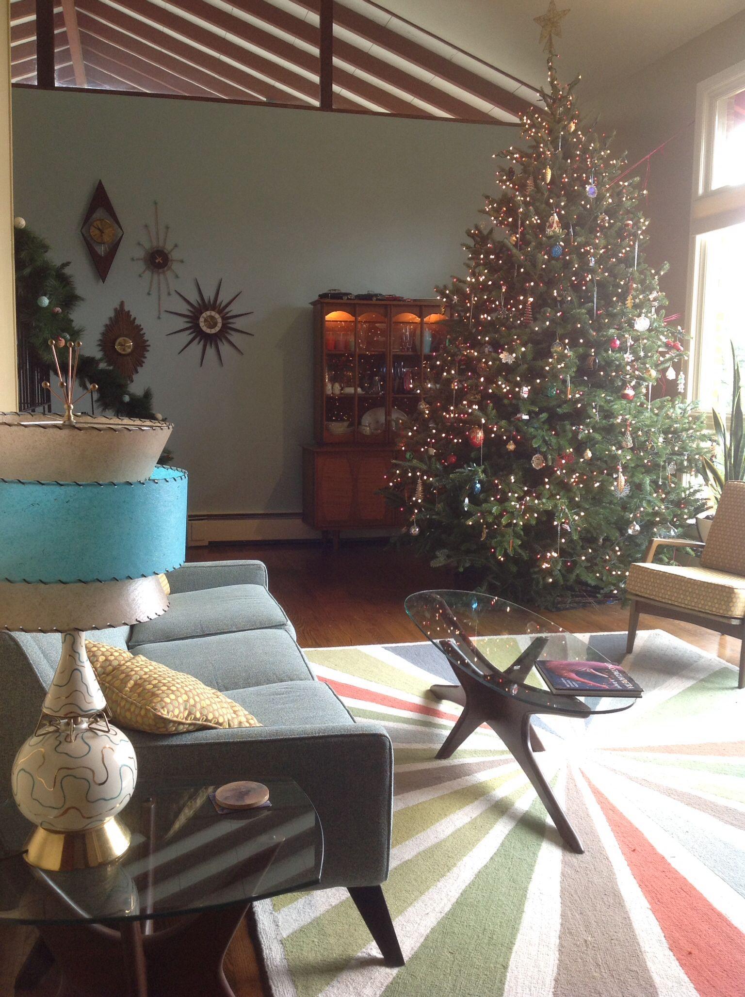 Christmas At My Atomic Wonder House