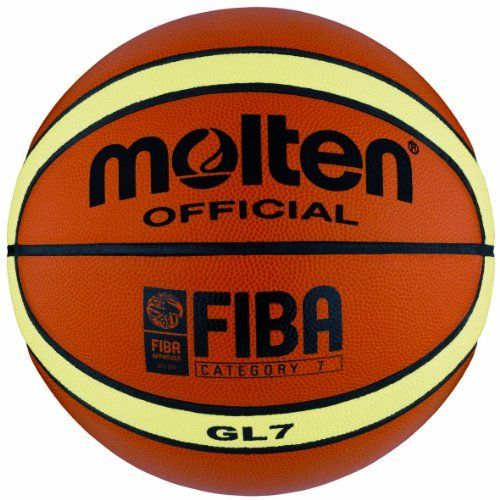 Molten Gl7 Basketball Orange Yellow Official Size 7 By Molten 80 73 Amazon Com A Proprietary Basketball Ball Basketball Fiba Basketball