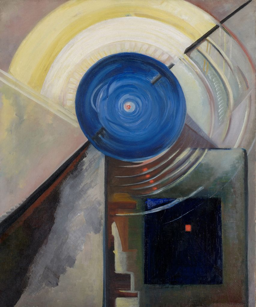 'Psychological Abstract Portrait of Ted Shawn' (1929) by Katherine Dreier
