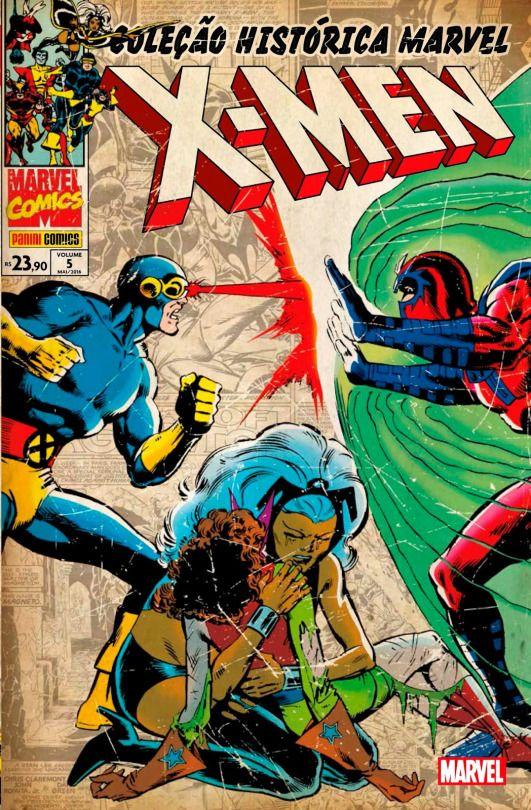 Colecao Historica Marvel Os X Men 05 Brazilian Marvel Comics Covers X Men Xmen Comics